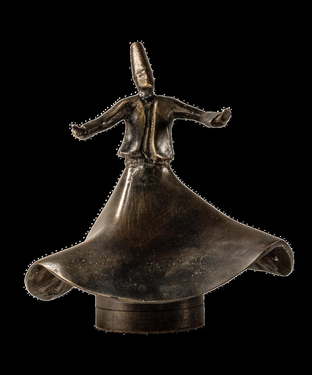 Derwisch Figur Windbrise | abstrakte Skulptur| Alefnooon