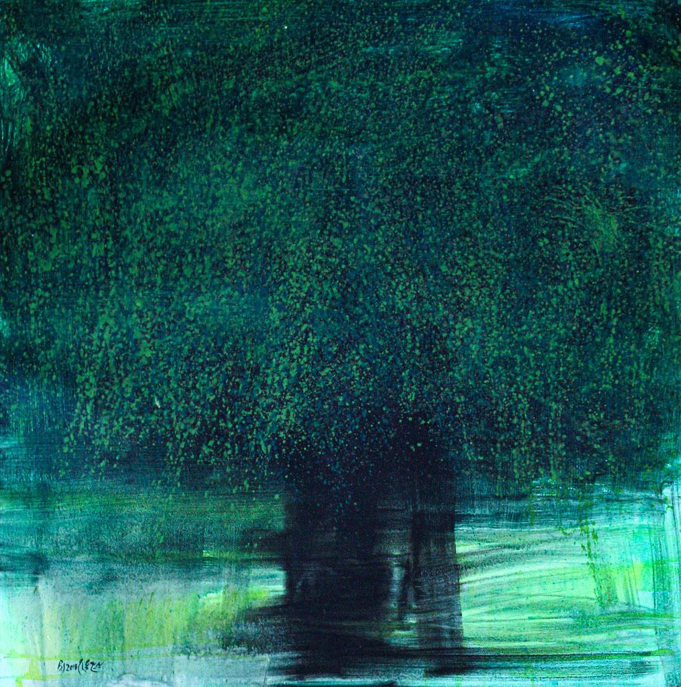 Olivenbaum Gemälde