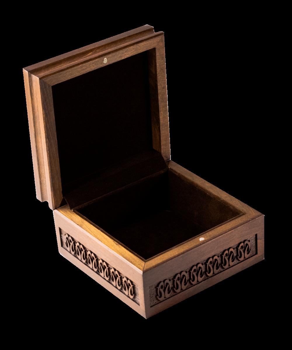 bj ornate wooden box (creation) opened